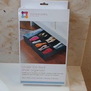 Interior By Design Shoes - Under the Bed Shoe Organizer